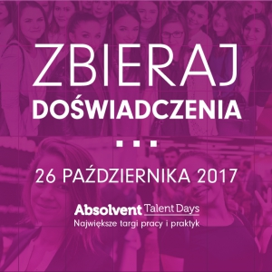 Absolvent Talent Days Łódź
